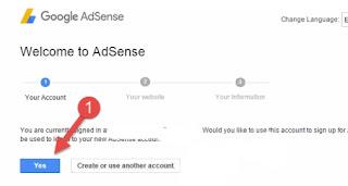 Adsense Account Kaise Banaye