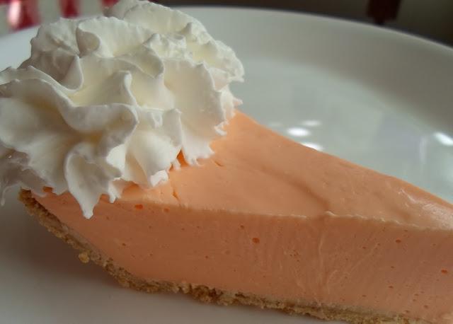 Happier Than A Pig In Mud: No Bake Orange Jello Creamsicle ...