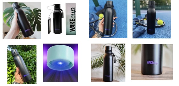 UV Water Bottle Self Cleaning