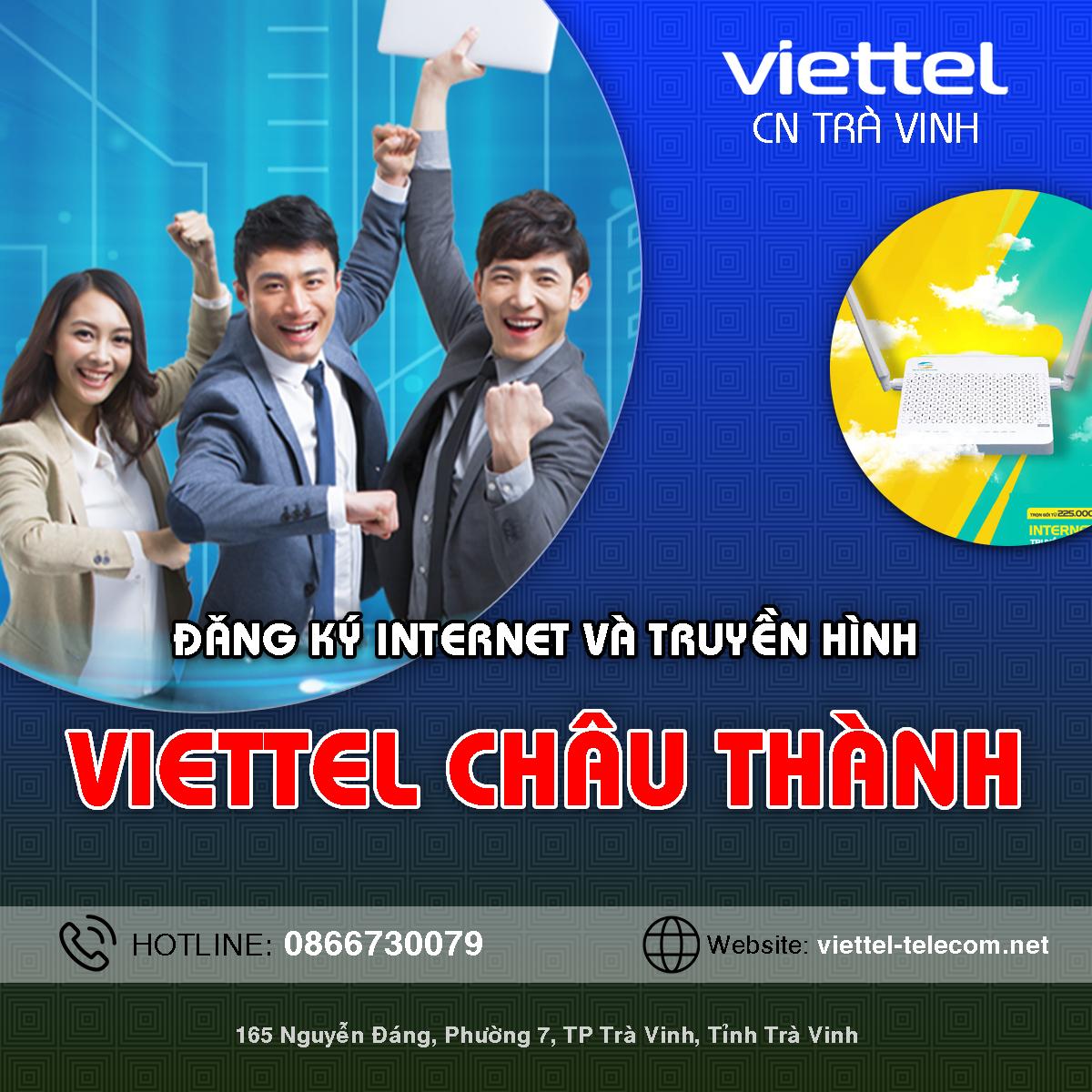 Cửa hàng Viettel huyện Châu Thành - Trà Vinh