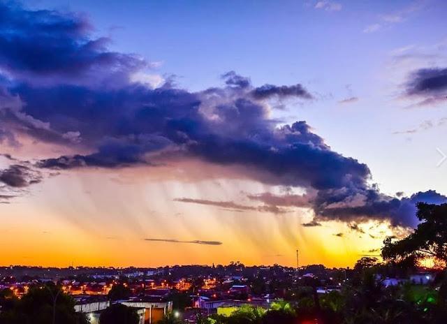 Tempo abafado em Rondônia, mas com chuvas isoladas na capital durante à tarde