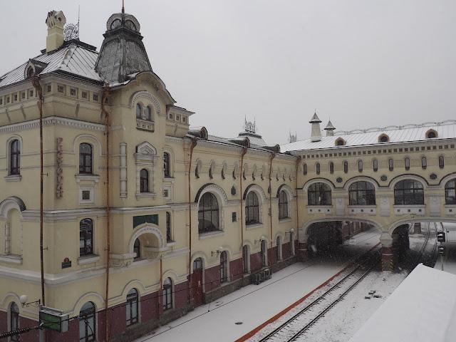 Станция Владивосток (Транссибирская магистраль)