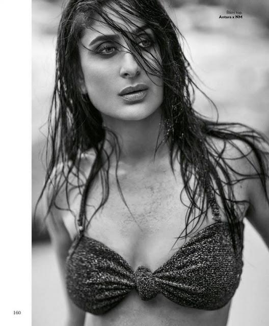 Bollywood Kareena Kapoor Magazine Photoshoot Photos Navel Queens