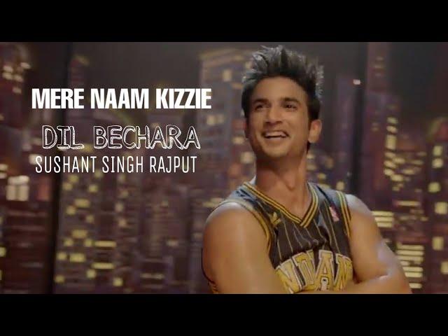 Mera Naam Kizie Lyrics – Dil Bechara