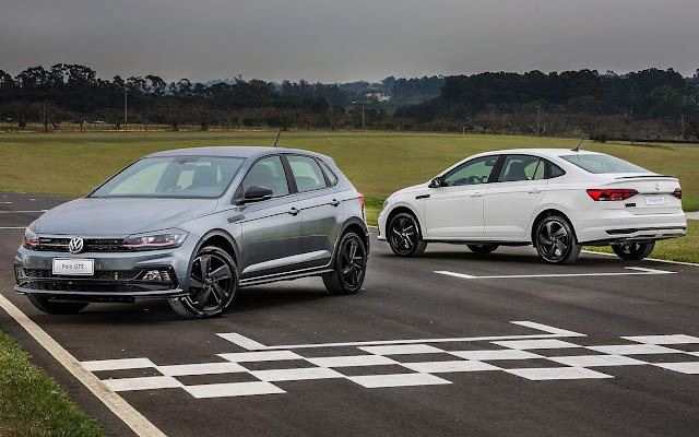 VW Polo e Virtus GTS 2020
