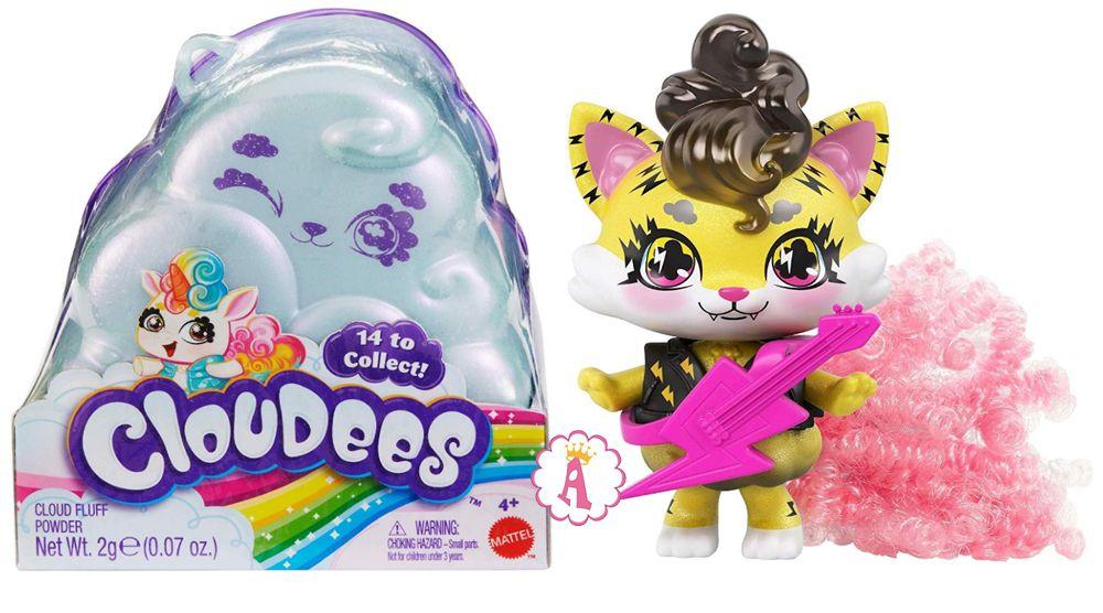 Сюрпризы в облачках питомцы Mattel Cloudees новые игрушки 2020