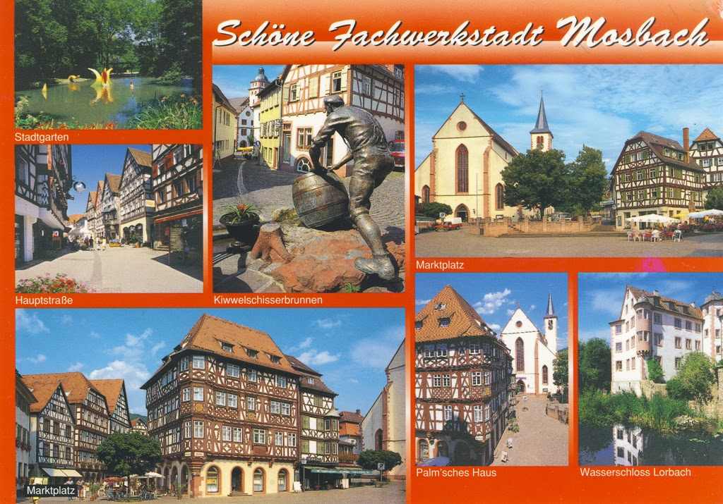 world on postcards mosbach baden w rttemberg germany. Black Bedroom Furniture Sets. Home Design Ideas