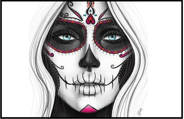 Top 60+ Best Sugar Skull Makeup Wallpaper For Mobile Phone