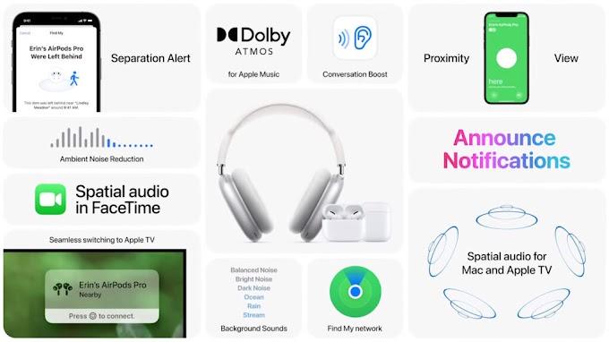AirPods: Localiza, amplificación de voz y reducción de ruido ajustable llegan con iOS 15