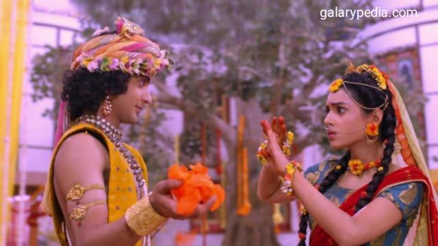 Radha Krishna images of holi