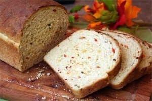 خبز بالخضار
