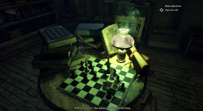 Chessboard, Nameless Bookstore, Call of Cthulhu