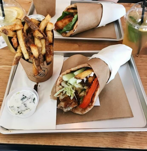 street food greek gyro