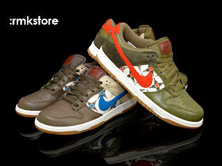 size 40 d5e3b 7026c Nike Dunk Low 08 LE Aztec Pack 2011 Fall Collection  Iguana Copper 318019-200    Ironstone Blue 318019-013