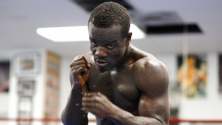 Joshua Clottey off to rumble