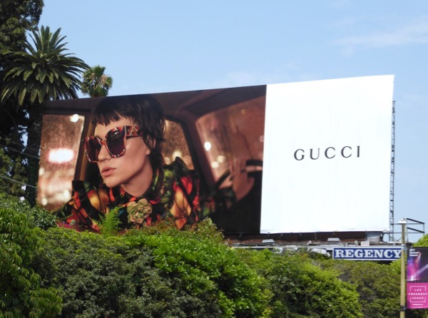Gucci Summer 2017 eyewear billboard