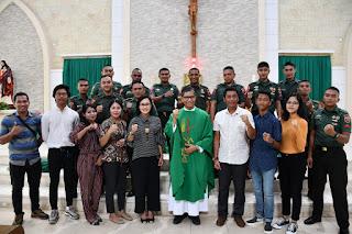 Minggu Berkah di Gereja Katolik St.Fransiskus Xaverius (Santa Anna) Kota Kendari, Prov. Sultra.