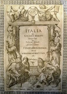 The cover of Magini's great work, which was published by his son in 1620