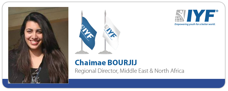 Chaimae BOURJIJ, Regional Director Middle East & North Africa