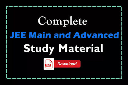 [PDF] Complete Kota JEE Main and Advanced Study Material | Free Download