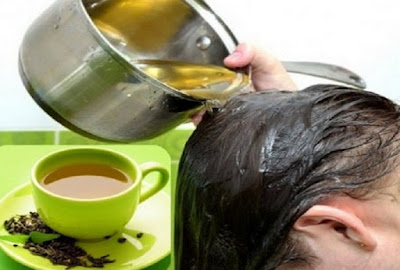 Cara Alami Melembabkan Rambut Dengan Air Teh