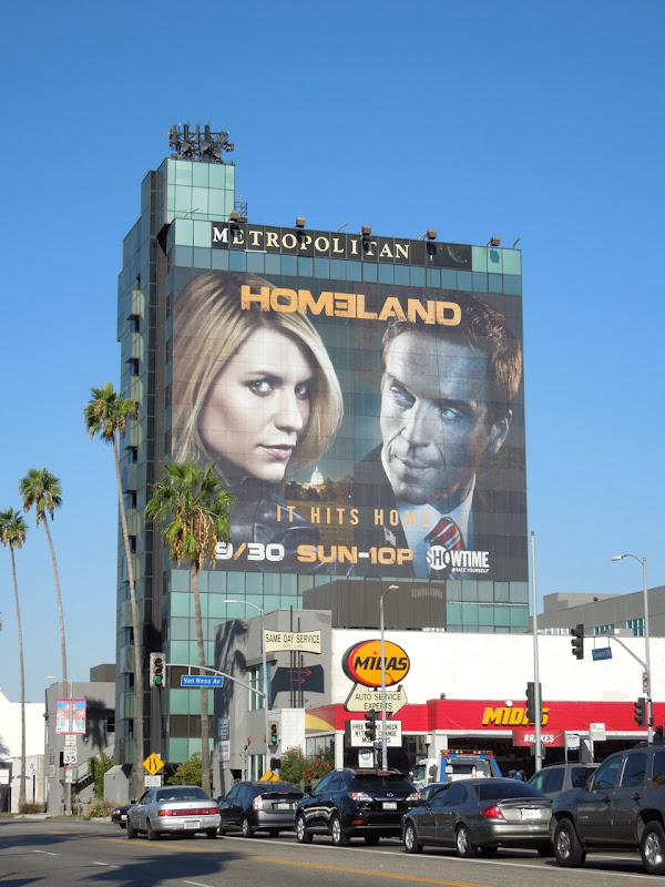 Homeland season 2 billboard Hollywood