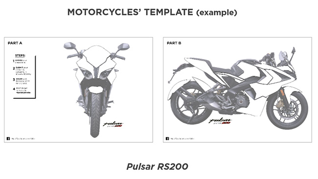 decals for Pulsar RS200