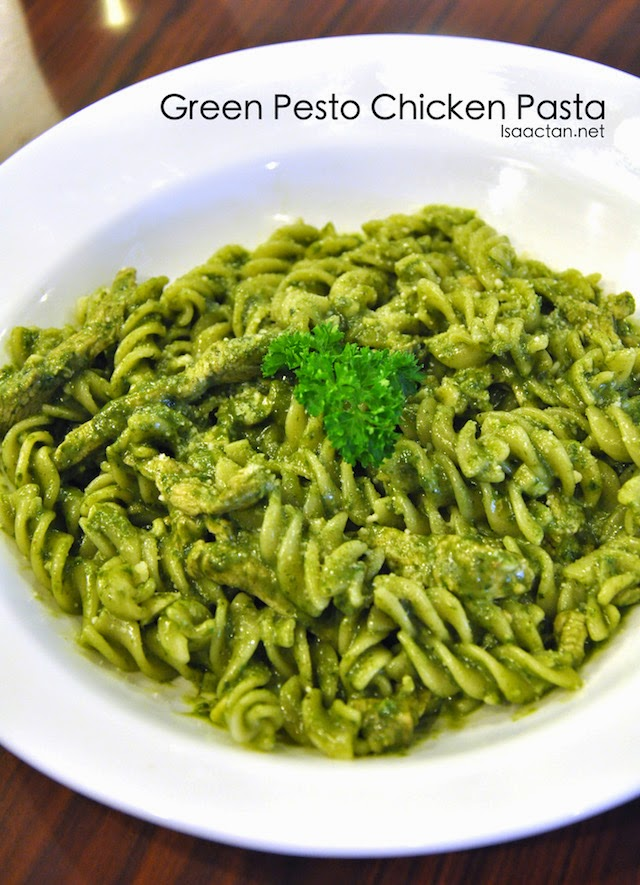 Green Pesto Chicken Pasta - RM18