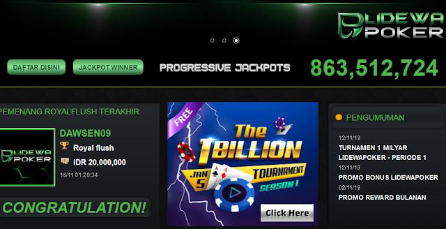 Situs Judi Online Poker Terbaik 2019