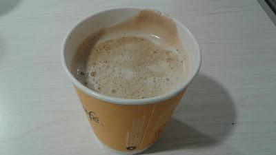 McDonald's small latte