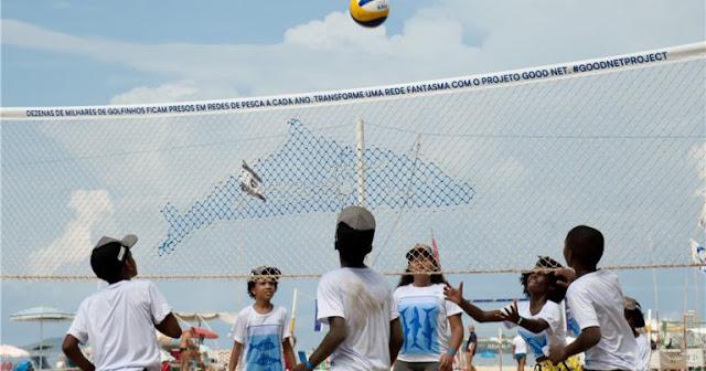 Dự án lưới đánh cá của FIVB được vinh danh ở lễ hội thể thao thế giới