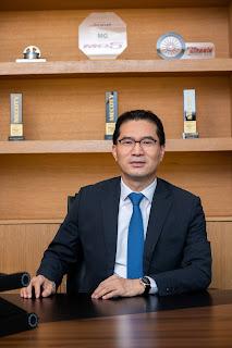 توم لي، المدير التنفيذي لعمليات 'إم جي موتور' في الشرق الأوسط