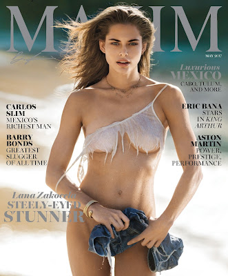 Maxim USA 2017年05月号 raw zip dl