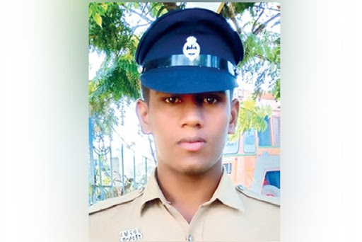 Indian police constable