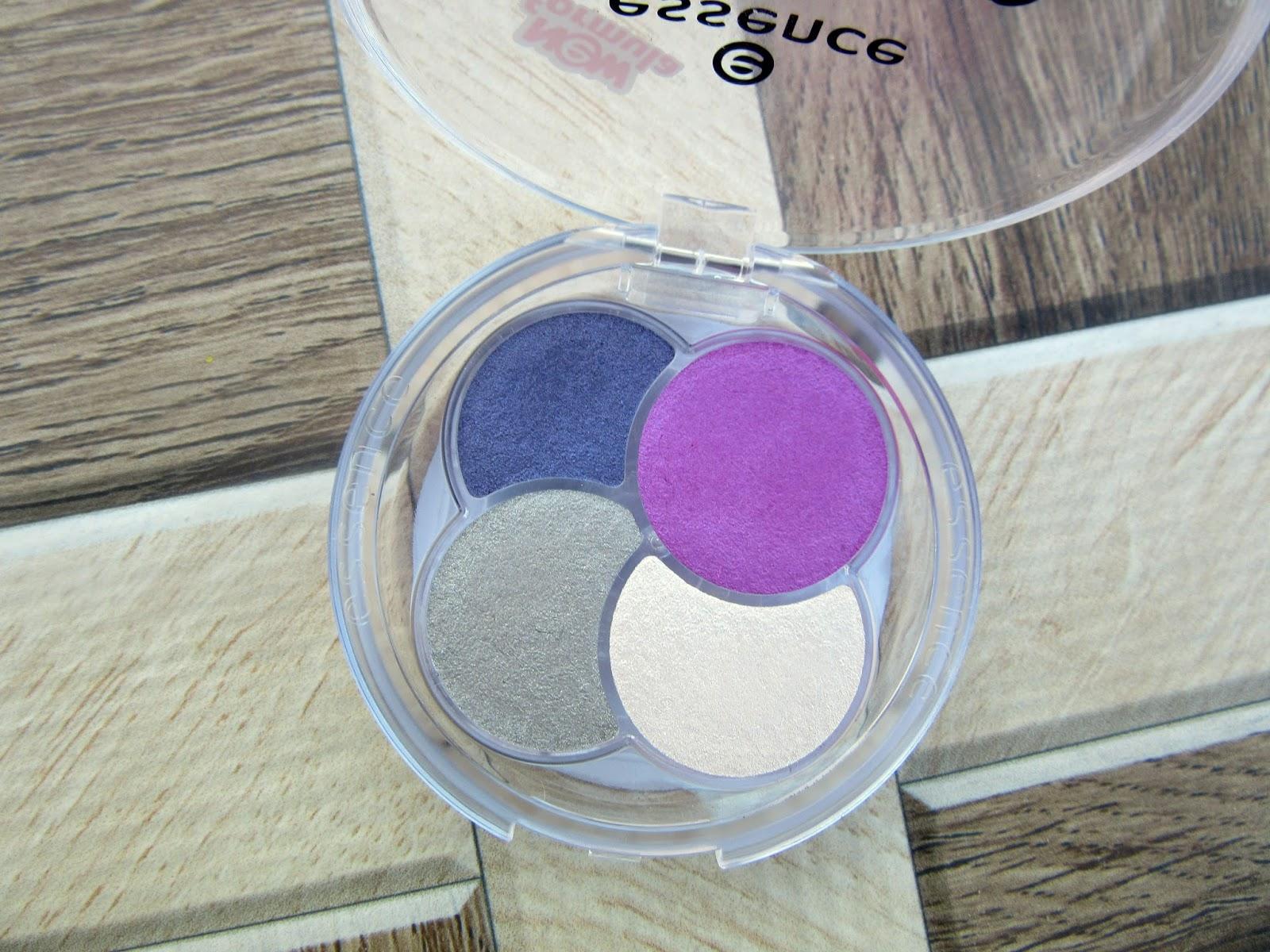 Essence Quattro Eyeshadow 'Magenta and Me!' Review, Swatch, FOTD