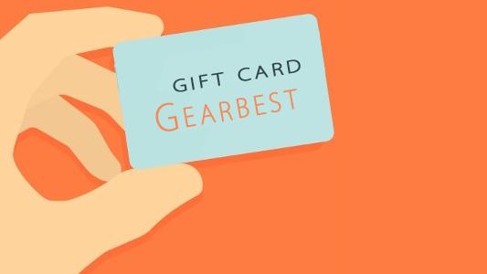 بطاقة هدية من Gearbest لشراء المنتوجات