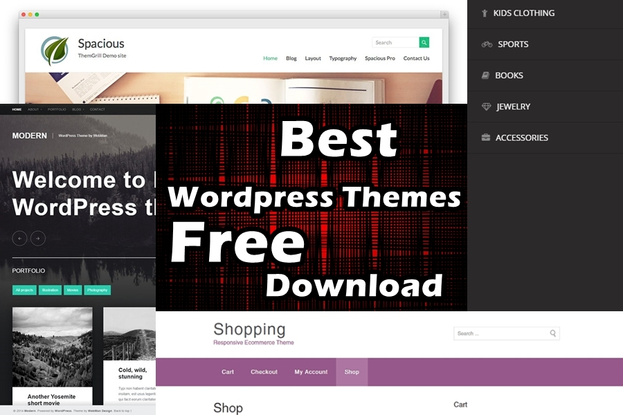 best wordpress themes free download get any template