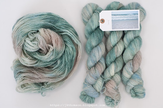more North Ronaldsay hand-dyed wool