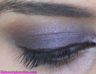 Smoky eye makeup with Too Faced Candied Violet eyeshadow
