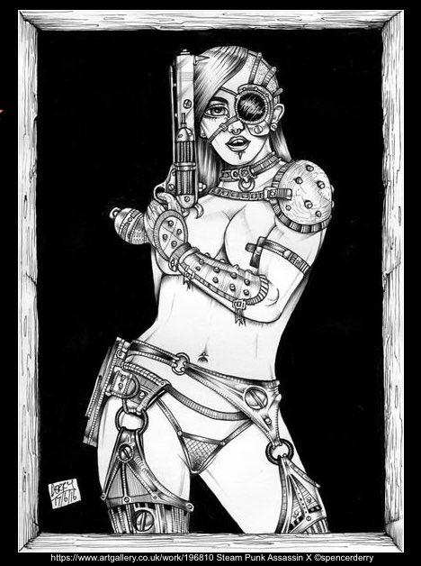 Steam Punk Assassin X (3rd Version)