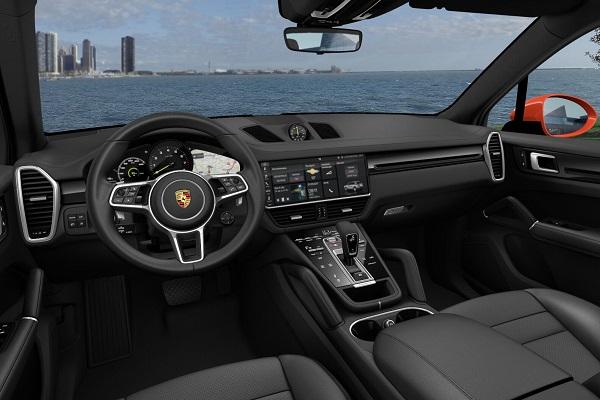 Interior Porsche Cayenne E-Hybrid