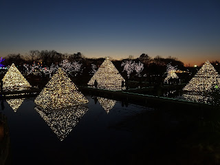 Ashikaga Flower Park illuminations 2017