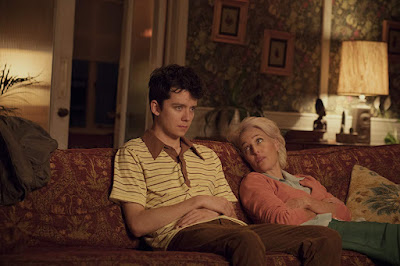 Sex Education Series Asa Butterfield Gillian Anderson Image 3