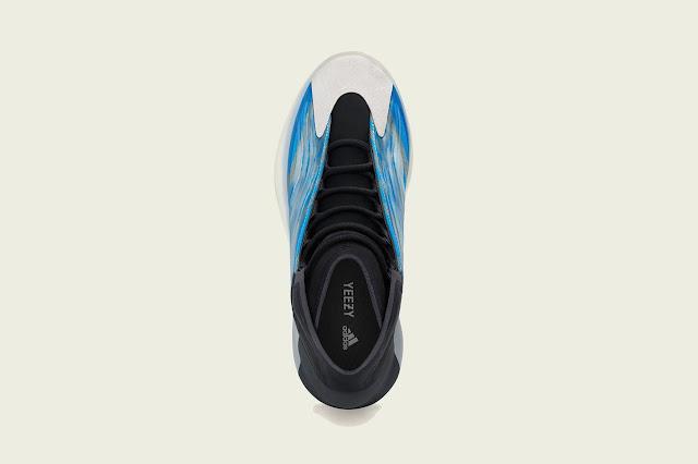 Adidas YEEZY BSKTBL và QNTM 'Frozen Blue' chính thức