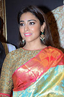 Shriya Saran Looks Stunning in Silk Saree at VRK Silk Showroom Launch Secundrabad ~  Exclusive 069.JPG