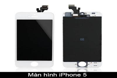 Dịch vụ thay màn hình iPhone 5 chính hãng tại Hà Nội
