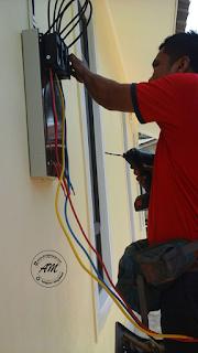 Rumah Idaman : Pemasangan Meter TNB