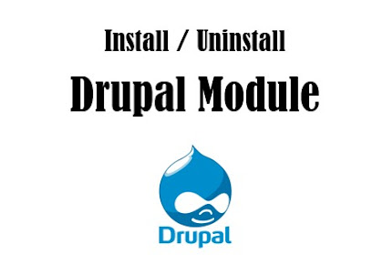 How to install and uninstall a module in Drupal CMS?