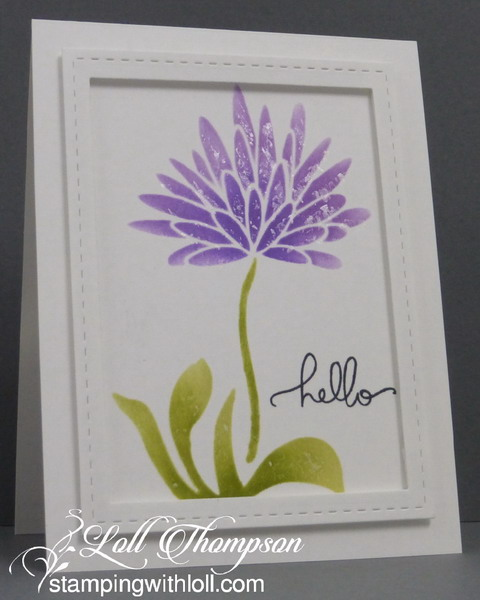 Faux Mother Of Pearl Stenciling