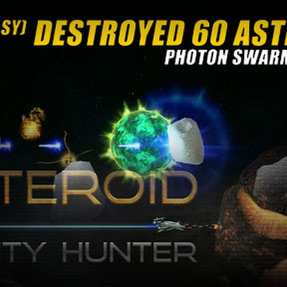 Gamer's Log, Game Date 3.7.2016 ★ Destroyed 60 Asteroids In Asteroid Bounty Hunter